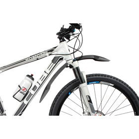 "Zefal Deflector FM60 Front Wheel Clip-On Mudguard 26/27,5/29"" black/grey"